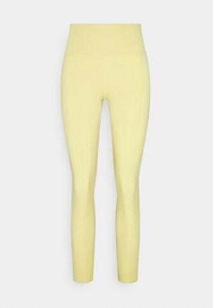 SPORT LEGGINGS - Tights - yellow light