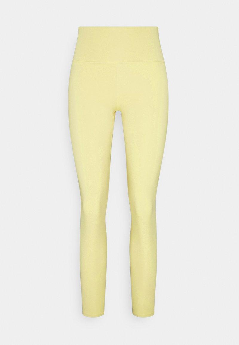 Monki - SPORT LEGGINGS - Tights - yellow light