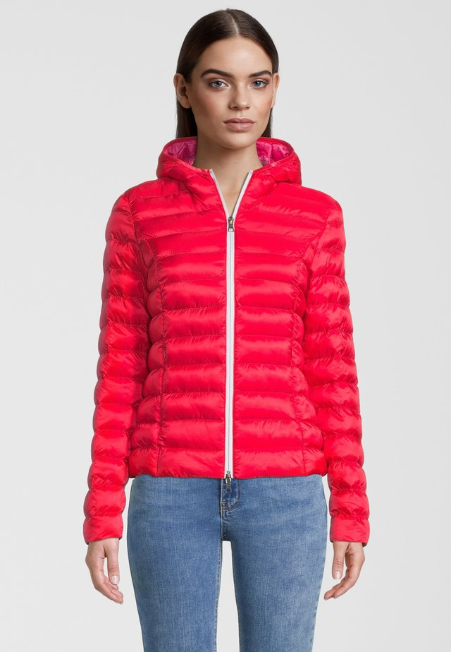 BERGEN - Winterjas - fusion red/hot pink