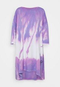 Diesel - D-EXTRA-A1 - Jersey dress - purple - 0