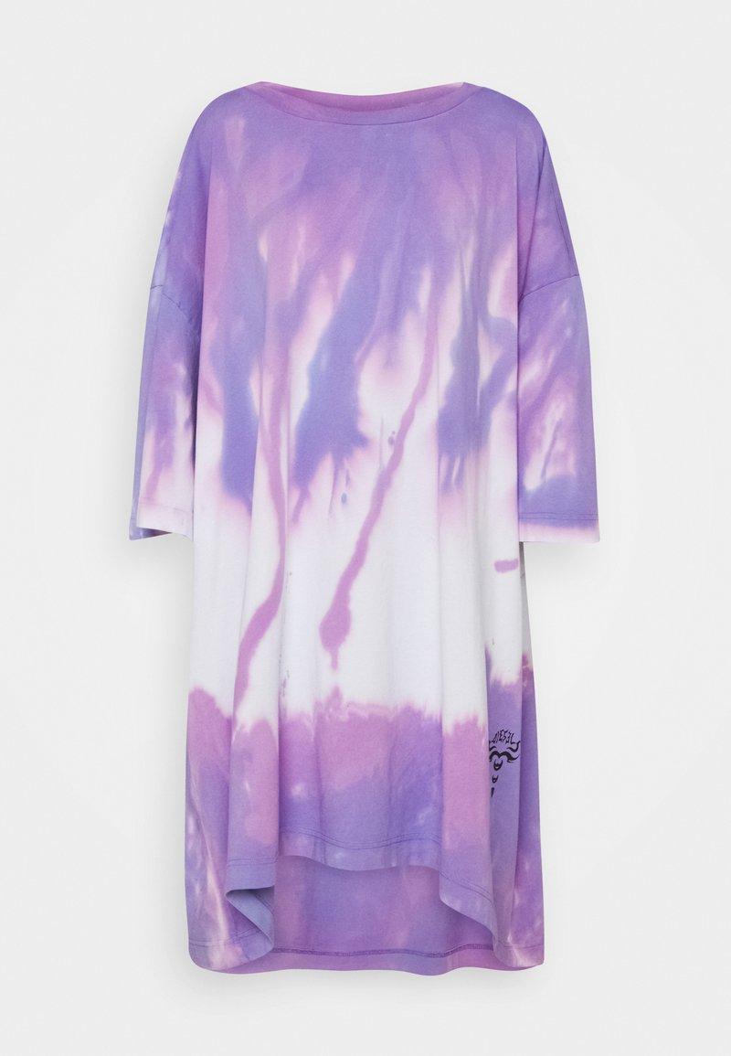 Diesel - D-EXTRA-A1 - Jersey dress - purple