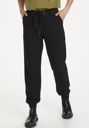 Tracksuit bottoms - black deep