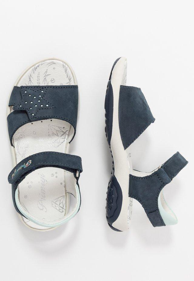 Sandaalit nilkkaremmillä - azzurro