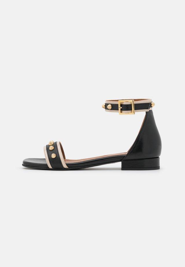 Sandaler - beige/black
