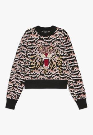 ROAR INTARSIA - Pullover - black