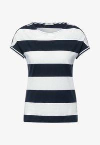 Cecil - STREIFEN MUSTER - Print T-shirt - blau - 3