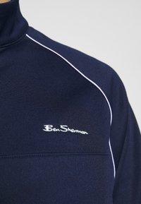 Ben Sherman - TRICOT ZIP THROUGH - Sportovní bunda - marine - 6