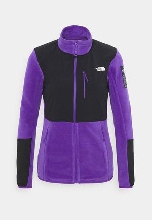 DIABLO MIDLAYER JACKET - Fleecová bunda - purple/black