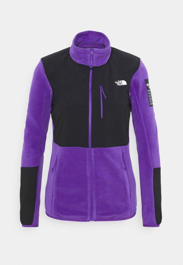 DIABLO MIDLAYER JACKET - Kurtka z polaru - purple/black