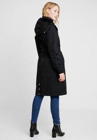 Danefæ København - BORNHOLM RAINCOAT - Waterproof jacket - black - 2