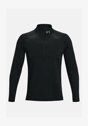QUALIFIER RUN - Maglietta a manica lunga - black
