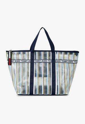 Shopping bag - silber