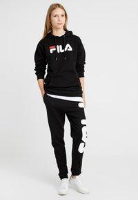 Fila Tall - PURE HOODY - Hoodie - black - 1