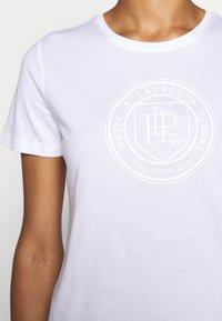 Lauren Ralph Lauren - T-shirt imprimé - white - 5
