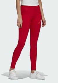 adidas Originals - HW TIGHTS - Legging - scarlet/semi solar red - 2
