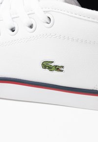 Lacoste - AMPTHILL  - High-top trainers - white/navy/red - 2