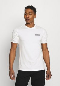 Wood Wood - SAMI INFO - Print T-shirt - off-white - 0