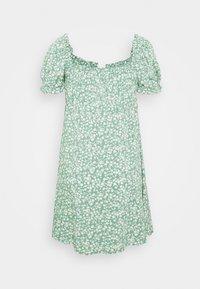 Nly by Nelly - FLIRTY BUTTON DRESS - Vardagsklänning - light green - 1