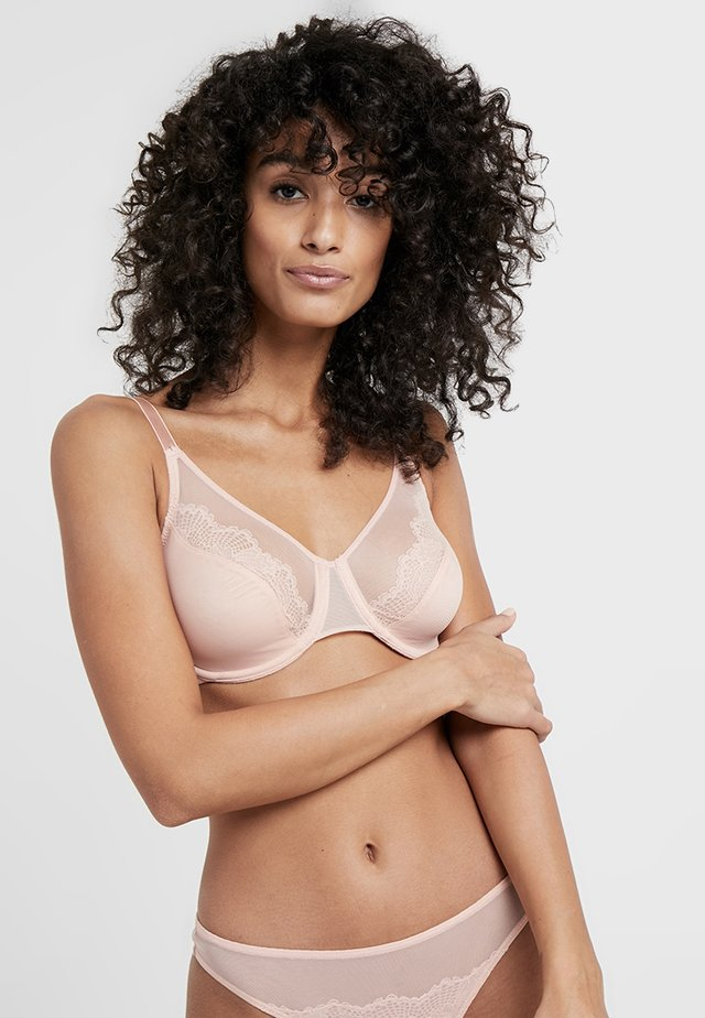 SPOTLIGHT - Underwired bra - dusty pink