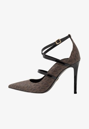 GENEVA  - High heels - brown/black