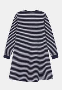 Wood Wood - AYA  - Žerzejové šaty - navy/off-white - 1