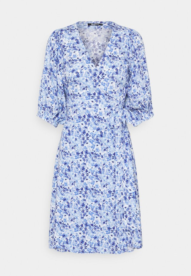 DITA DRESS - Korte jurk - blueflower