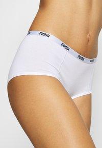 Puma - MINI SHORT 3 PACK - Panties - white - 5