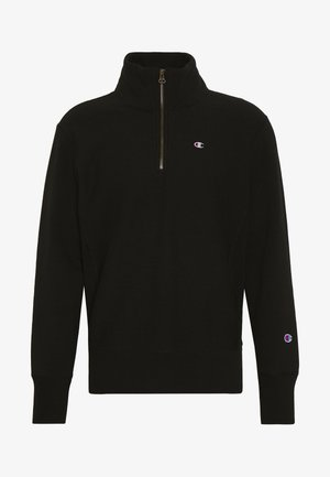 HALF ZIP - Sweatshirts - black