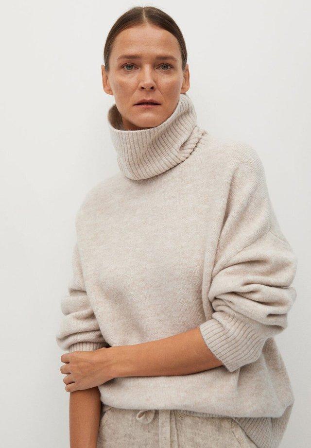 TALDORAC - Sweter - středně hnědá