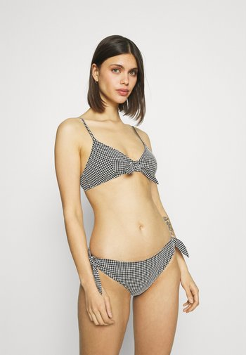 LOUISE BRA BRIEF - Bikini - black