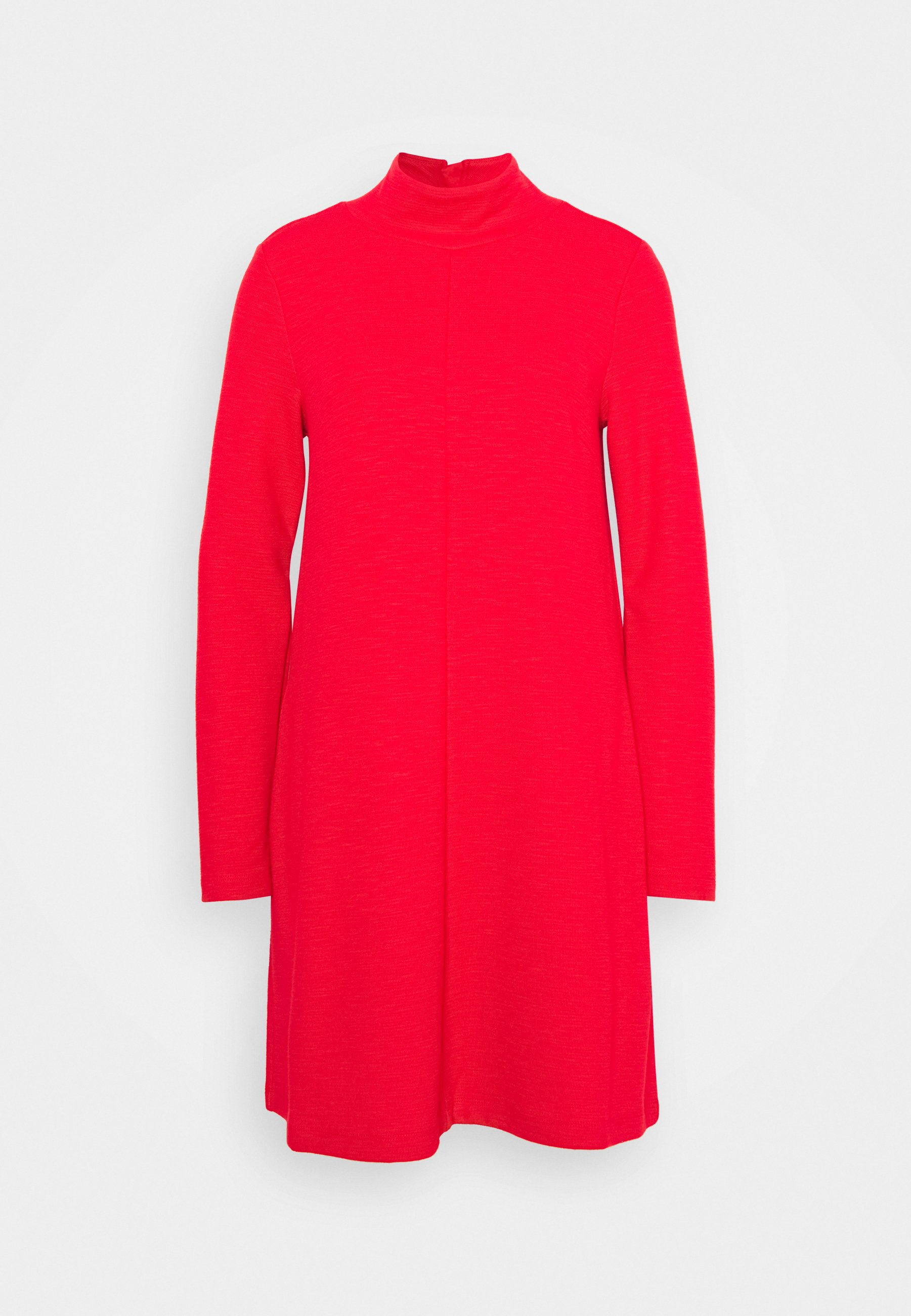 Women MOCK NECK DRESS OTTOMAN - Jumper dress