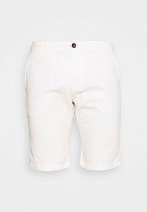 Shorts - beige white