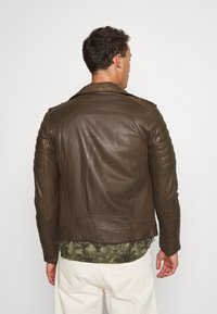 Serge Pariente - HIPSTER  - Leather jacket - khaki - 2