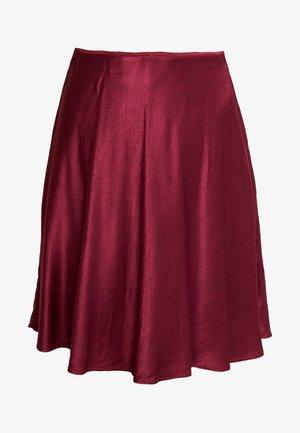 ALSOP SHORT SKIRT - Áčková sukně - rhododendron