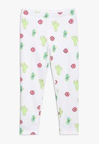 J.CREW - DESERT FLOWER CROPPED  - Leggings - Trousers - pink/green - 0