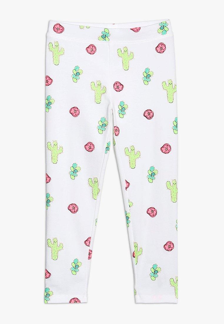 J.CREW - DESERT FLOWER CROPPED  - Leggings - Trousers - pink/green