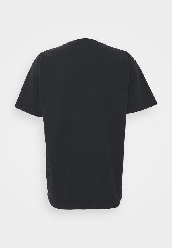 Obey Clothing HELL ON EARTH - T-shirt z nadrukiem - off black/czarny Odzież Męska TRTC