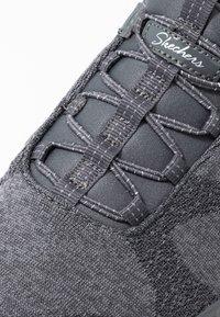 Skechers Wide Fit - BREATHE-EASY - Zapatillas - charcoal/gray - 2