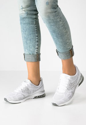 SKECH-AIR INFINITY - Trainers - white/silver