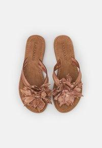 Lazamani - Flip Flops - tan - 5