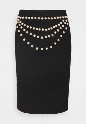 SKIRT - Blyantnederdel / pencil skirts - fantasy black