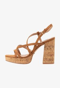 ONLY SHOES - ONLAERIN  - High heeled sandals - cognac - 1