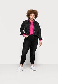 Marks & Spencer London - CREW CARDI PLAIN - Cardigan - pink - 1