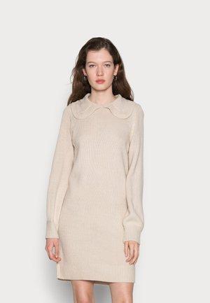 ONLLEXA COLLAR DRESS - Jumper dress - pumice stone