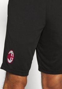 Puma - AC MAILAND TRAINING SHORTS - Sports shorts - black - 5