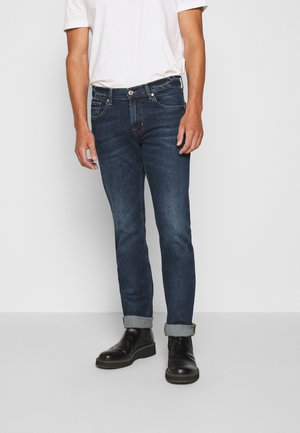 CAPTAIN - Slim fit jeans - dark blue