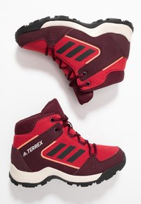 adidas Performance - TERREX HYPERHIKER TRAXION HIKING SHOES - Fjellsko - activ margenta/core black - 0
