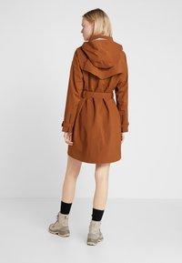 Bergans - OSLO COAT - Hardshell jacket - copper - 4