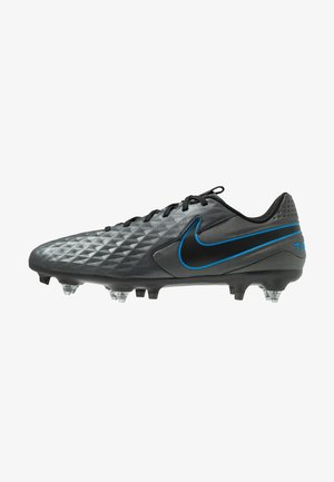 TIEMPO LEGEND 8 ACADEMY SG-PRO AC - Screw-in stud football boots - black/blue hero