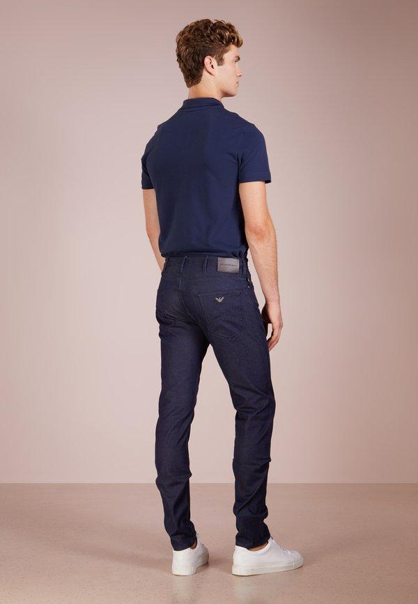 Emporio Armani Jeansy Slim Fit - denim blu/ciemnoniebieski Odzież Męska RXXI